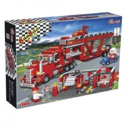 CAMION ROUGE TURBO 660PCS JR 16