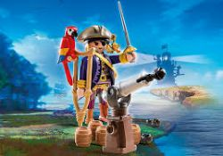 CAPITAINE PIRATE AVEC CANON #6684