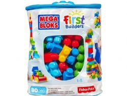 MÉGA BLOKS FIRST BUILDERS  80 PCS