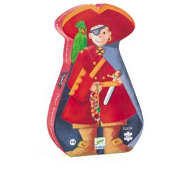 DJECO 36 PCS LES PIRATES  FORME DE PIRATE