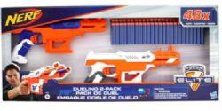 NERF - FALCONFIRE 2 FUSILS- 48 DARTS