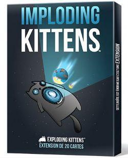 EXPLODING KITTENS - EXTENSION  IMPLODING KITTENS