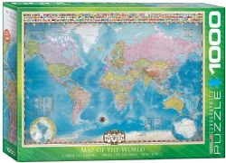 EUROGRAPHICS CT 1000PCS - CARTE DU MONDE