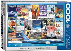 EUROGRAPHICS CT 1000PCS - COLLECTION BOEING