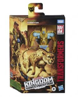 TRANSFORMERS GENERATIONS WAR FOR CYBERTRON: KINGDOM CHEETOR WFC-K4 DELUXE