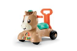 FISHER PRICE - PONEY MARCHEUR 3 EN 1 VERSION BILINGUE//
