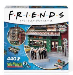 -  WREBBIT CT 3D 440PCS - FRIENDS CENTRAL PERK