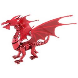 ICONX, DRAGON ROUGE, 2 FEUILLES