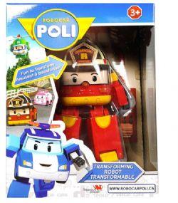 ROBOCAR POLI - VÉHICULE TRANSFORMABLE - ROY