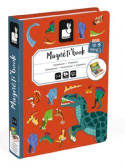 JC21 JANOD MAGNÉTI'BOOK - DINOSAURES