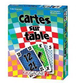 JC21 CARTES SUR TABLE (FR)
