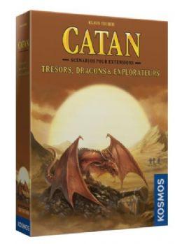 CATAN EXTENSION - TRESORS, DRAGONS ET EXPLORATEURS