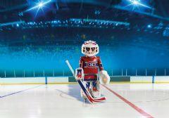 PLAYMOBIL - LHN GARDIEN DE BUT DES CANADIENS DE MONTRÉAL #5078
