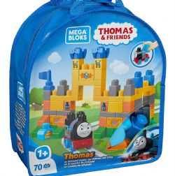 MÉGA BLOKS  70PCS THOMAS LE TRAIN AU CHÂ