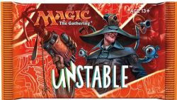 BOOSTER MAGIC THE GATHERING UNSTABLE ASST.