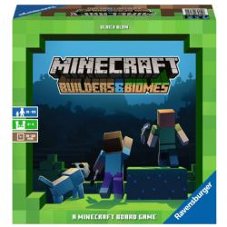 MINECRAFT LE JEU : BUILDERS AND BIOMES