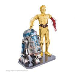 MÉTAL EARTH - BOITE CADEAU STAR WARS R2-D2 & C-3PO