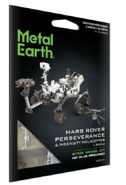 METAL EARTH - ROVER MARS PERSÉVÉRANCE ET HÉLICOPTÈRE INGÉNIOSITÉ