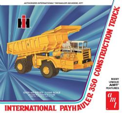MODÈLE À COLLER - CAMION DE CONSTRUCTION INTERNATIONAL PAYHAULER 350 1:25
