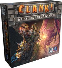 CLANK LES AVENTURIERS DU DECK BUILDING