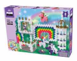 BLOC PLUS PLUS - MINI PASTEL LICORNE - 760PCS