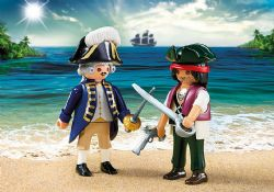 PIRATE ET SOLDAT ROYAL #6846