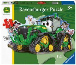 RAVENSBURGER CT DE PLANCHER 24 PCS - TRACTEUR JOHN DEERE #5172