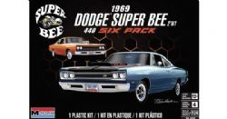MODÈLE À COLLER - RMX4505 69 DODGE SUPERBEE 2N1 1/25