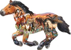 SUNSOUT CT 800PCS - CHEVAL AU GALOP (SILHOUETTE)