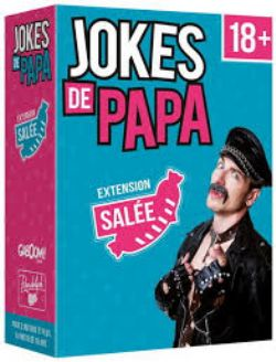EXTENSION SALÉE  JOKES DE PAPA LE JEU