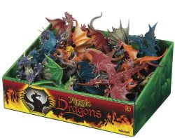 FIGURINES DE DRAGON EN PLASTIQUE