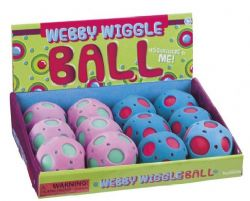 BALLE WEBBY WIGGLE TURQUOISE/ROSE