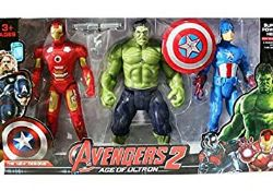 ENS 3 FIGURINES AVENGERS 4 AGE OF ULTRON