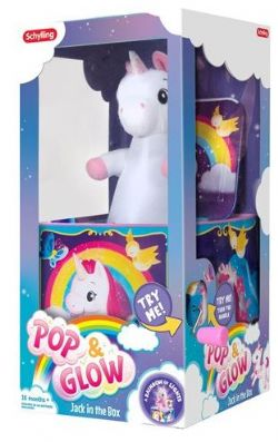 JACK IN THE BOX LICORNE - JOUET LUMINEUX