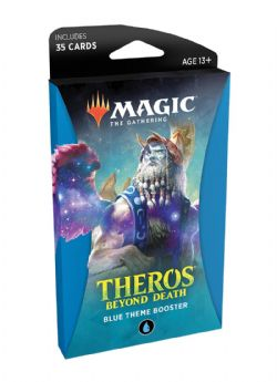 BLUE THEME BOOSTER THEROS BEYOND DEATH MAGIC THE GATHERING