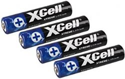 XCELL BATTERIES ALCALINES AAA